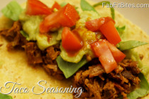 taco seasoning mix, homemade taco seasoning, leftover tacos